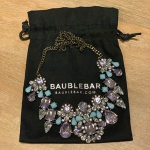 Bauble Bar Jeweled Statement Necklace